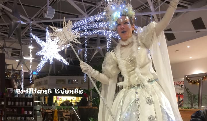 The Snow Queen at a brilliant christmas event in Dublin and Kildare
