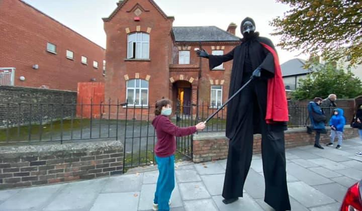 children's entertainer in Dublin ands Kildare during Halloween